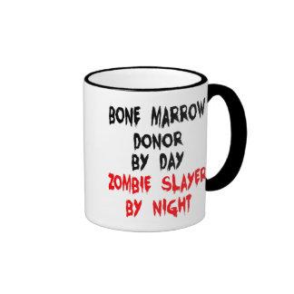 Zombie Slayer Bone Marrow Donor Ringer Mug