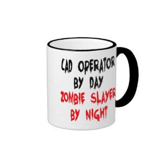 Zombie Slayer CAD Operator Ringer Mug