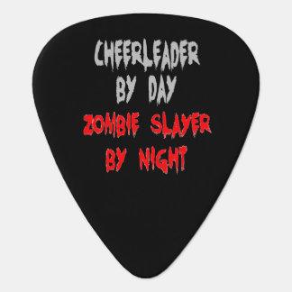 Zombie Slayer Cheerleader Guitar Pick
