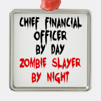Zombie Slayer Chief Financial Officer Christmas Ornament