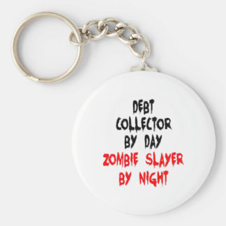Zombie Slayer Debt Collector Key Ring
