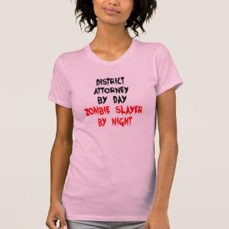 Zombie Slayer District Attorney T-Shirt