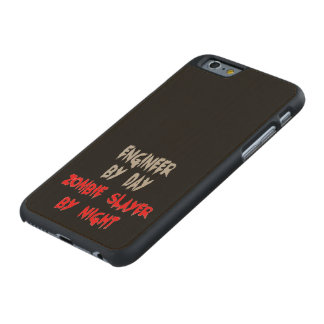 Zombie Slayer Engineer Carved Maple iPhone 6 Case