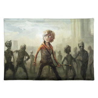 Zombie Slayer Fabric Placemat
