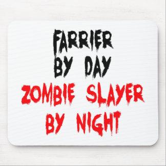 Zombie Slayer Farrier Mouse Mat