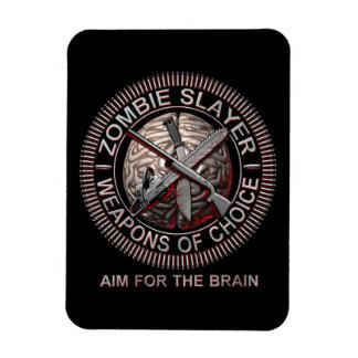 Zombie Slayer Flexible Magnets