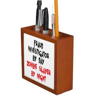 Zombie Slayer Fraud Investigator Desk Organiser