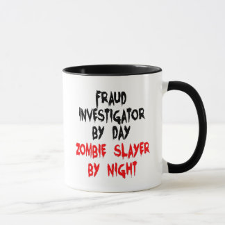 Zombie Slayer Fraud Investigator Mug
