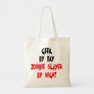 Zombie Slayer Geek Canvas Bags