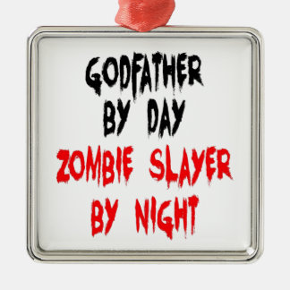 Zombie Slayer Godfather Christmas Ornament