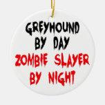 Zombie Slayer Greyhound Dog