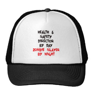 Zombie Slayer Health and Safety Director Cap