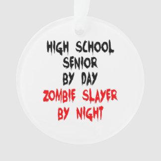 Zombie Slayer High School Senior Ornament