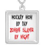 Zombie Slayer Hockey Mum Personalised Necklace