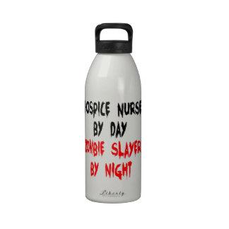 Zombie Slayer Hospice Nurse Drinking Bottles