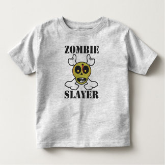 Zombie Slayer Kids Toddler T-Shirt