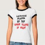 Zombie Slayer Lacrosse Player T-shirt