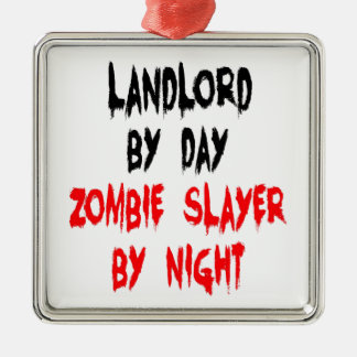 Zombie Slayer Landlord Christmas Ornament