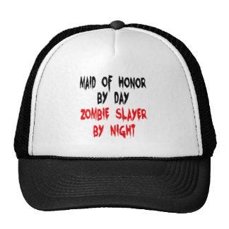Zombie Slayer Maid of Honor Cap