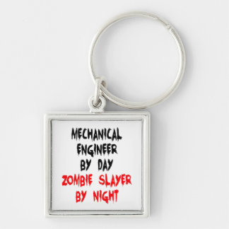 Zombie Slayer Mechanical Engineer Key Chain