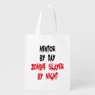 Zombie Slayer Mentor Reusable Grocery Bag