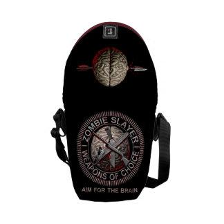 Zombie Slayer Messenger Bag
