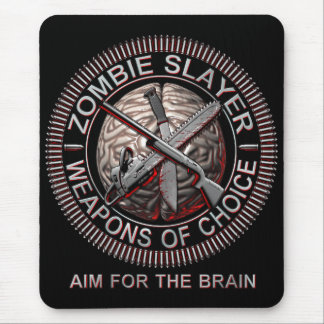 Zombie Slayer Mouse Mat