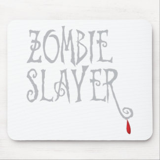 Zombie Slayer Mouse Pads
