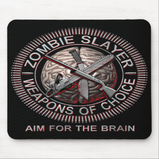 Zombie Slayer Mouse Pad