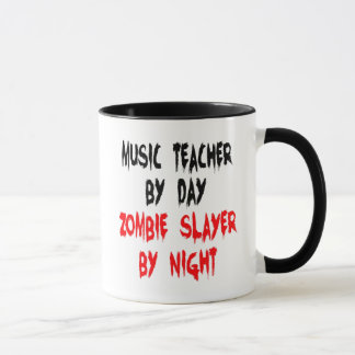 Zombie Slayer Music Teacher Mug