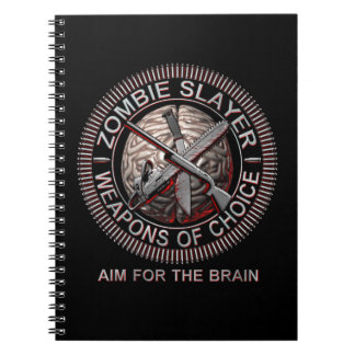 Zombie Slayer Note Books