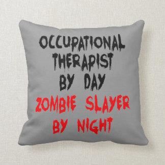 Zombie Slayer Occupational Therapist Cushion