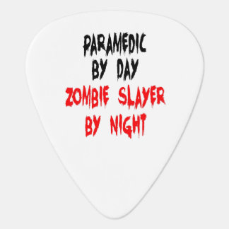 Zombie Slayer Paramedic Guitar Pick