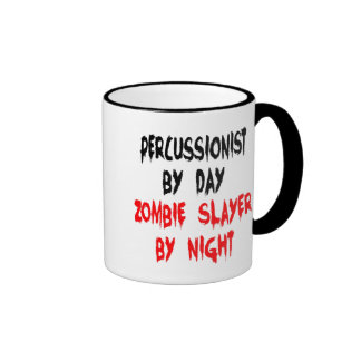 Zombie Slayer Percussionist Ringer Mug
