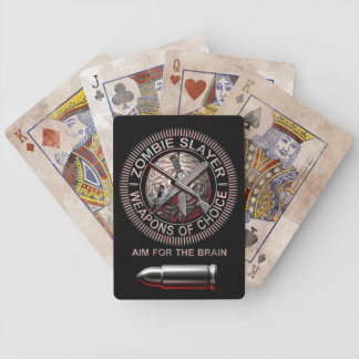 Zombie Slayer Playing Cards
