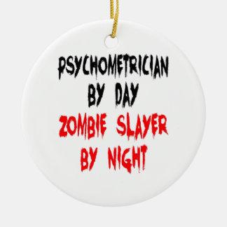 Zombie Slayer Psychometrician Round Ceramic Decoration