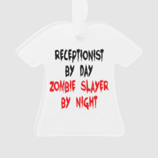 Zombie Slayer Receptionist Ornament