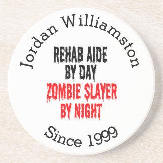 Zombie Slayer Rehab Aide Coasters