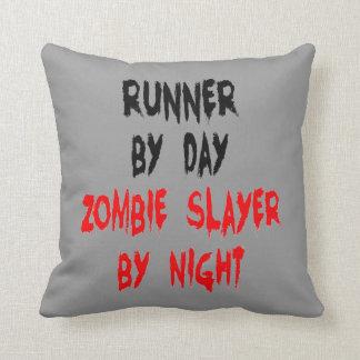 Zombie Slayer Runner Cushion