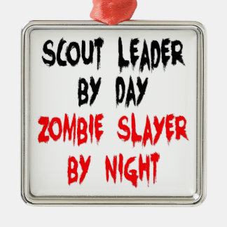 Zombie Slayer Scout Leader Christmas Ornament