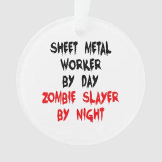 Zombie Slayer Sheet Metal Worker