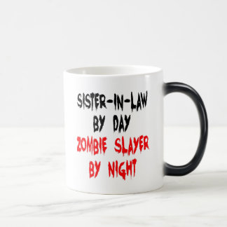 Zombie Slayer Sister in Law Morphing Mug