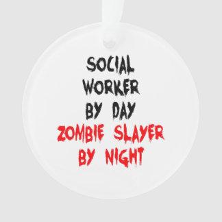 Zombie Slayer Social Worker