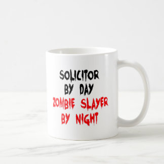 Zombie Slayer Solicitor Coffee Mug