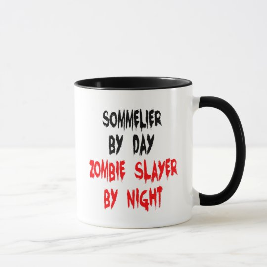 Zombie Slayer Sommelier Mug