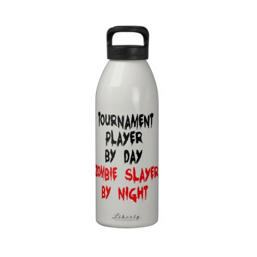 Zombie Slayer Tournament Player Drinking Bottles