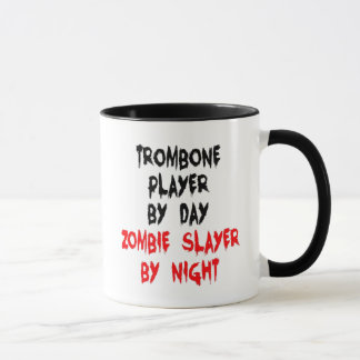 Zombie Slayer Trombone Player Mug