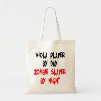 Zombie Slayer Viola Player Tote Bag