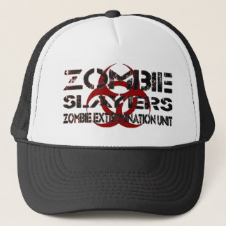 Zombie Slayers: Zombie Extermination Unit Trucker Hat