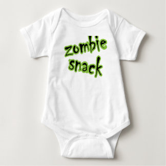 zombie_snack baby bodysuit